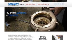 Specialty Design And Manufacturing Specialty Design Manufacturing Assembly Machinery