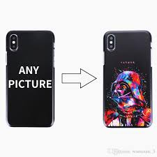 custom design diy logo photo hard phone case for iphone 4 4s 5 5s se 6 6s 7 plus customized printed back cover phones cases silicone phone cases from