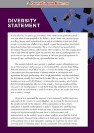 diversity statement sample graduate school sample that can help  example of a diversity essay samples this is a good example essay diversity sample research paper about diversity in education society and america at