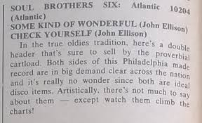 Image result for Some Kind of Wonderful - Soul Brothers Six