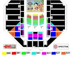 Salina Bicentennial Center Seating Chart Events Paw Patrol Live 1 Tonys Pizza Events Center