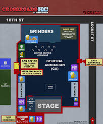 Knuckleheads Garage Seating Chart General Admission Crossroadskc