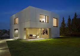 concrete home designs zwickau germany 1 Concrete Home Designs minimalist in  Germany