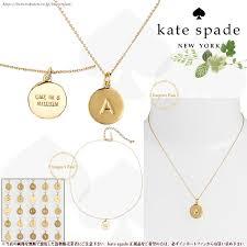 initial pendant necklace importfan rakuten global market kate spade kate spade one in kate spade one in a million