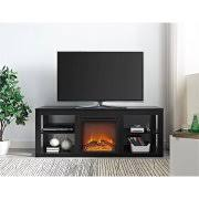 tv stand with electric fireplace. ameriwood home parsons electric fireplace tv stand for tvs up to 65\ tv with