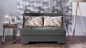 twist optimum grey loveseat sleeper by