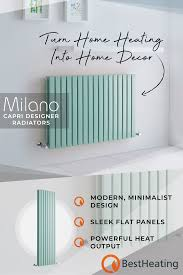 Milano Capri Mint Green Designer Radiators Artofit