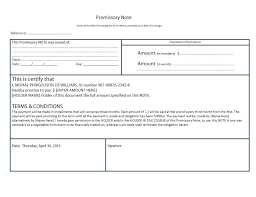 Promissory Note Templates Word Real Estate Promissory Note Template