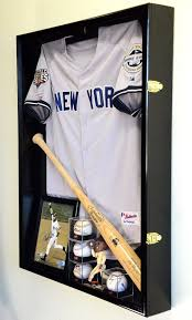 26 Ultimate Man Cave Essentials | Shadow box display case, Baseball shadow  boxes, Shadow box jersey