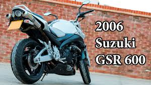 2007 <b>Suzuki GSR 600</b> - <b>Motorcycle</b> Review - YouTube