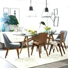 west elm kitchen table glass dining medium image for amazing small round island