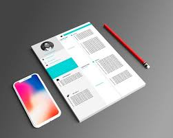 4 Page Professional Cv Template
