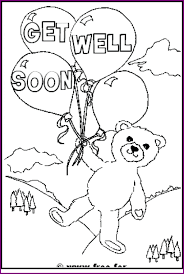 Coloring Pages Get Well Soon Coloring Pages Printable Page For