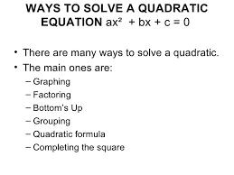 ways solve quadratic equations factoring expressions 2 728 1340636365 vision charming ways solve quadratic equation
