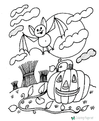 Halloween Coloring Pages Free Printable Scary Scary Coloring Pages