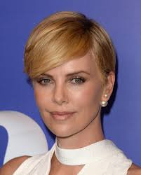 Charlize Theron Short Hair Style charlize theron hairstyle fade haircut 2612 by wearticles.com