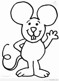 Mouse Pictures To Color Timykids