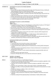Safety Engineer Senior Resume Samples Velvet Jobs