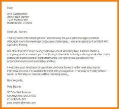 7 Thank You Letter After Onsite Interview Phoenix Officeaz