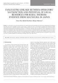 (PDF) EVALUATING LINKAGE BETWEEN OPERATORSâ ...