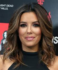 eva longoria um wavy formal bob dark brunette