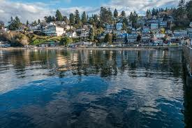Dash Point Wa Tide Chart Dash Point Waterfront Homes 3 Stock Photo Image Of