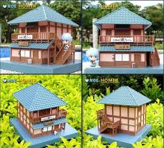 details about japanese style home diy miniature doll house kit new