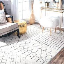 6 by 9 area rugs geometric bead pattern grey white rug 6 7 x 9 in