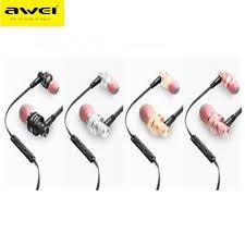 <b>Awei ES</b>-10TY 3.5MM Noise Isolation In-ear Earphones | Shopee ...