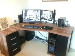 best computer desk for multiple monitors good office computer chair good desk for gaming amazing corner