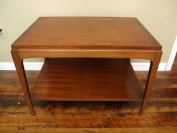 walnut end table. Vintage Modern Lane Walnut End Table M