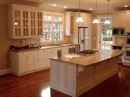 Color Schemes For Kitchens With Light Wood Cabinets White Painted