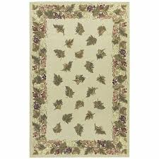 nourison hand hooked country heritage beige wool rug 2 3 x 8