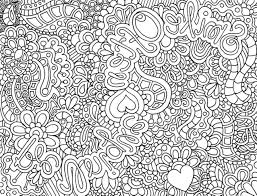 Free Printable Abstract Coloring Pages For Adults With Plicated Ruva