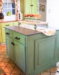 Kitchen Island Makeover Dixie Belle Paint On Kitchen Cabinets Looks Amazing