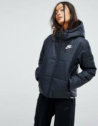 212 best Women's Jackets :: Quilted jacket (Asos) images on ... & Shop Nike Short Padded Jacket With Branded Waistband at ASOS. Adamdwight.com