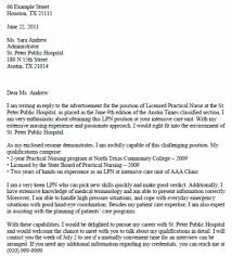 Cover Letter For Lpn Resume 1 Present Nor Positivelp Com