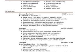 resume sample be one landscaping resume samples landscaping resume - Landscaping  Resume Samples