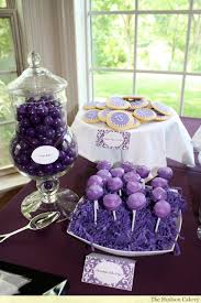 Best 25+ Purple dessert tables ideas on Pinterest | Purple party, Purple  party decorations and Unicorn and fairies