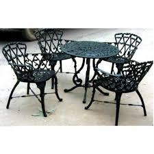 cast aluminium garden chairs set at rs