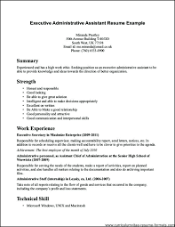 Administrative Assistant Objective Resume Samples Resume For School Office Assistant Objective Skills Resumes
