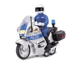 Полицейский <b>мотоцикл</b>, фрикционный,свет, звук 15 см <b>Dickie</b>