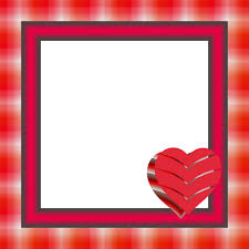 frame heart aid red day symbol shape love