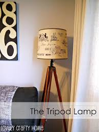 Tripod Lamp Tutorial Diy Ideas Diy Tripod Tripod Lamp Diy