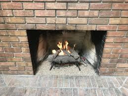wood burning fireplace installation