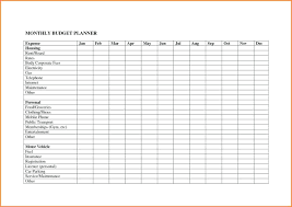 budget planner excel template template monthly expenses excel template budget planner spreadsheet