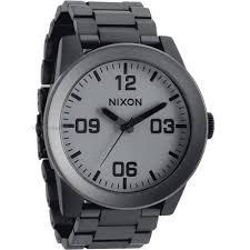 "men s nixon the corporal ss watch a346 1062 watch shop comâ""¢ mens nixon the corporal ss watch a346 1062"
