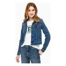 <b>Куртка</b> джинсовая LEE <b>SLIM</b> RIDER L541HAZV <b>женская</b>, цвет ...