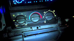 How to change the color of your dash in a 99-03 silverado PART1 ...