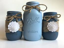 How To Decorate Mason Jars Awesome Decorating Ball Jars Blue Mason Jars Beach Decorating By Songbird
